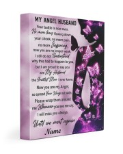 My Angel Husband I Will Miss You Always Gallery Wrapped Canvas Prints tile