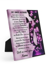 My Angel Husband I Will Miss You Always Easel-Back Gallery Wrapped Canvas tile