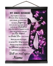 My Angel Husband I Will Miss You Always Hanging Canvas tile