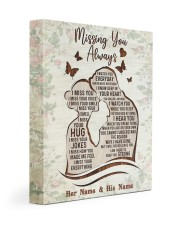 Missing You Always I Watch You Every Day 11x14 Gallery Wrapped Canvas Prints thumbnail