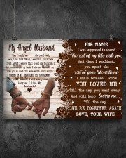 Memorial Gift My Angel Husband Love Your Wife 36x24 Poster aos-poster-landscape-36x24-lifestyle-11