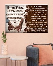 Memorial Gift My Angel Husband Love Your Wife 36x24 Poster poster-landscape-36x24-lifestyle-18