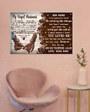 Memorial Gift My Angel Husband Love Your Wife 36x24 Poster poster-landscape-36x24-lifestyle-19