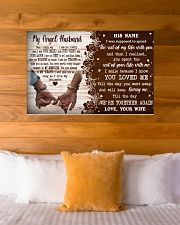 Memorial Gift My Angel Husband Love Your Wife 36x24 Poster poster-landscape-36x24-lifestyle-23
