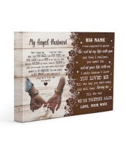 Memorial Gift My Angel Husband Love Your Wife Gallery Wrapped Canvas Prints tile