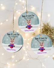 Hope A Cure For Epilepsy Awareness Ornament Circle ornament - 3 pieces (porcelain) aos-cricle-ornament-3-pieces-porcelain-lifestyles-03