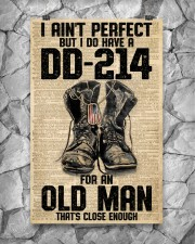 I Ain't Perfect But I Do Have A DD-214 11x17 Poster aos-poster-portrait-11x17-lifestyle-13