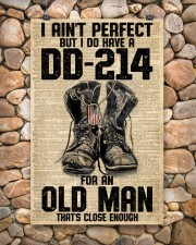 I Ain't Perfect But I Do Have A DD-214 11x17 Poster aos-poster-portrait-11x17-lifestyle-15