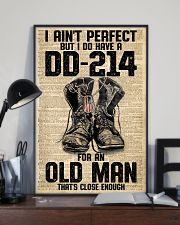 I Ain't Perfect But I Do Have A DD-214 11x17 Poster lifestyle-poster-2
