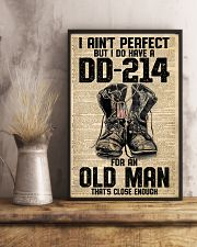 I Ain't Perfect But I Do Have A DD-214 11x17 Poster lifestyle-poster-3