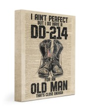 I Ain't Perfect But I Do Have A DD-214 Gallery Wrapped Canvas Prints tile