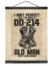I Ain't Perfect But I Do Have A DD-214 Hanging Canvas tile