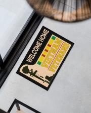 """Welcome Home Vietnam Veterans Doormat 22.5"""" x 15""""  aos-doormat-22-5x15-lifestyle-front-08"""
