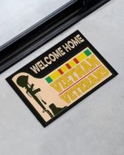 """Welcome Home Vietnam Veterans Doormat 22.5"""" x 15""""  aos-doormat-22-5x15-lifestyle-front-09"""
