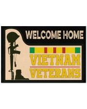 """Welcome Home Vietnam Veterans Doormat 22.5"""" x 15""""  front"""