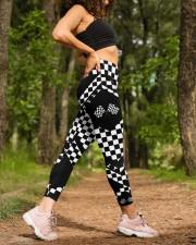 Racing Flags High Waist Leggings aos-high-waist-leggings-lifestyle-20