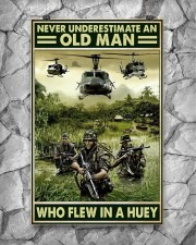Never Underestimate An Old Man Who Flew In A Huey 11x17 Poster aos-poster-portrait-11x17-lifestyle-13