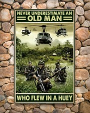 Never Underestimate An Old Man Who Flew In A Huey 11x17 Poster aos-poster-portrait-11x17-lifestyle-15