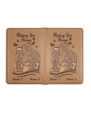 Missing You Always I Am There to Keep You Strong Medium - Leather Notebook full