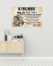 In This House We Do Autism 36x24 Poster poster-landscape-36x24-lifestyle-01