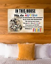 In This House We Do Autism 36x24 Poster poster-landscape-36x24-lifestyle-23