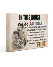 In This House We Do Autism 14x11 Gallery Wrapped Canvas Prints thumbnail