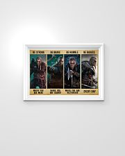 Viking Be Strong Be Brave Be Humble Be Badass 24x16 Poster poster-landscape-24x16-lifestyle-02