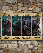 Viking Be Strong Be Brave Be Humble Be Badass 24x16 Poster poster-landscape-24x16-lifestyle-17