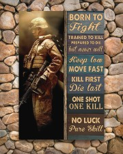 Born To Fight Trained To Kill 24x36 Poster aos-poster-portrait-24x36-lifestyle-15