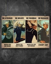 Be Strong When Weak Be Brave When Scared 36x24 Poster aos-poster-landscape-36x24-lifestyle-11