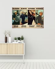 Be Strong When Weak Be Brave When Scared 36x24 Poster poster-landscape-36x24-lifestyle-01