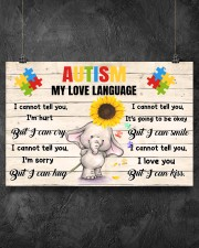 Autism My Love Language I Cannot Tell You I'm Hurt 36x24 Poster aos-poster-landscape-36x24-lifestyle-11