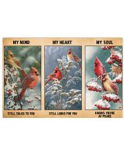 My Mind Still Talks To You My Heart Still Looks 36x24 Poster front