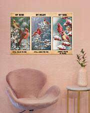 My Mind Still Talks To You My Heart Still Looks 36x24 Poster poster-landscape-36x24-lifestyle-19