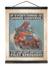 If Everything Is Under Control 16x20 Black Hanging Canvas thumbnail