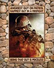 Angriest Guy On Patrol Happiest Guy In A Firefight 11x17 Poster aos-poster-portrait-11x17-lifestyle-15