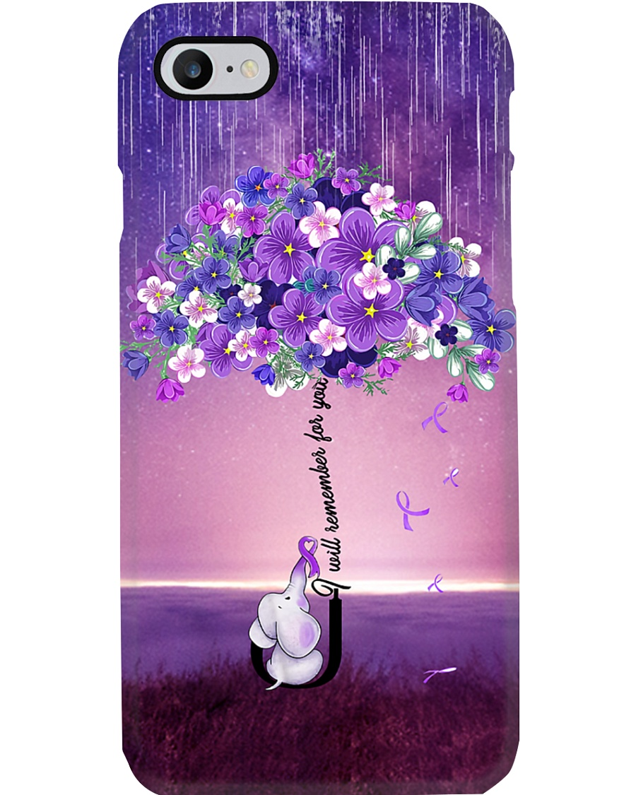 i will remember for you Phone Case