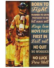 Born To Fight Trained To Save 24x36 Poster front