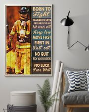 Born To Fight Trained To Save 24x36 Poster lifestyle-poster-1