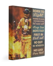 Born To Fight Trained To Save 11x14 Gallery Wrapped Canvas Prints thumbnail