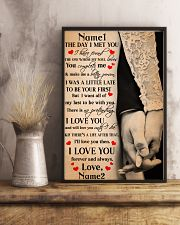 Family Gift Holding Hands The Day I Met You I Have Found The One 24x36 Poster lifestyle-poster-3