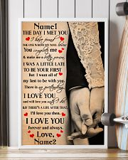 Family Gift Holding Hands The Day I Met You I Have Found The One 24x36 Poster lifestyle-poster-4