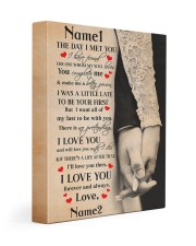 The Day I Met You I Have Found The One Gallery Wrapped Canvas Prints tile