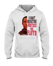 george floyd Hooded Sweatshirt front