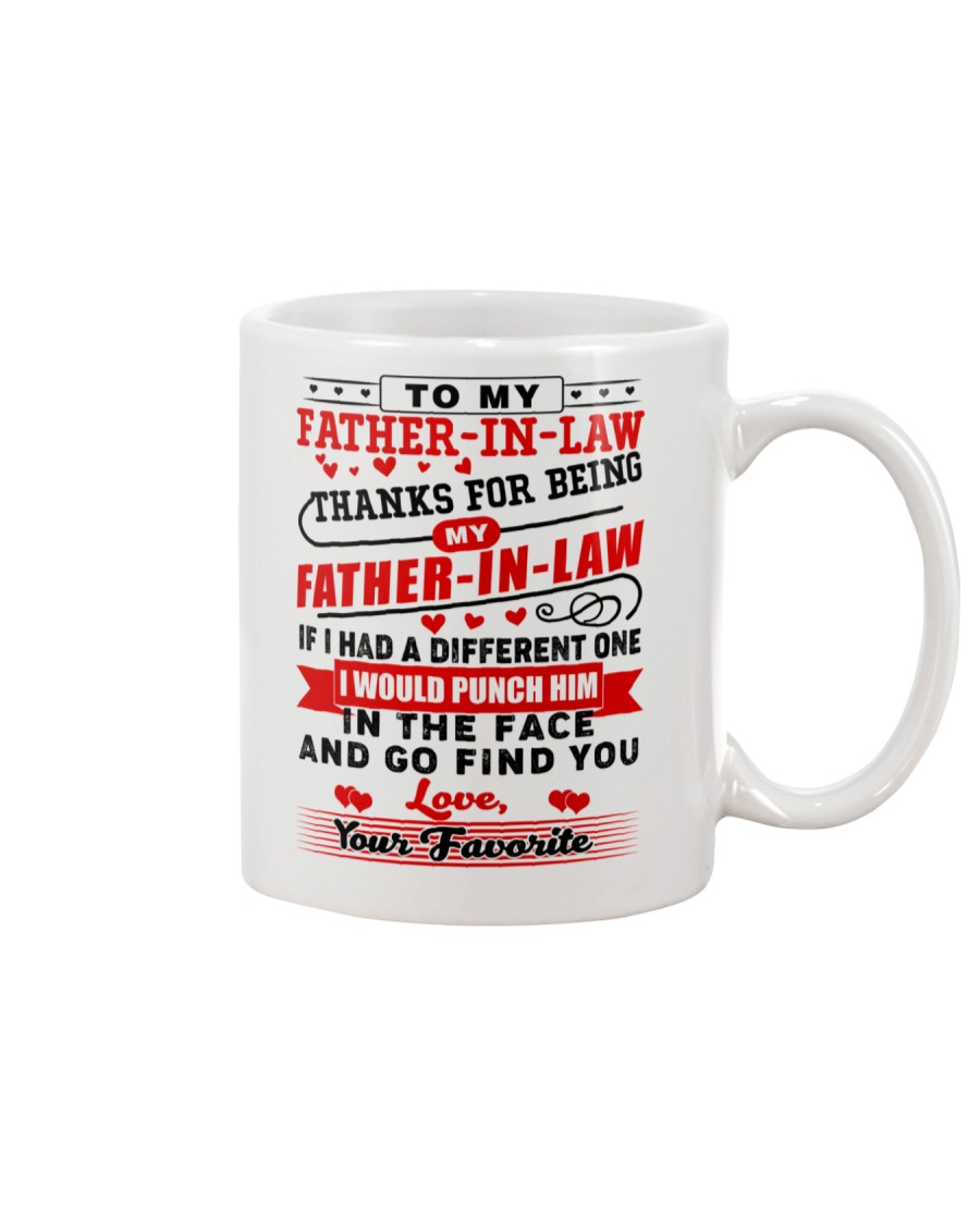 To My Father-In-Law Mug