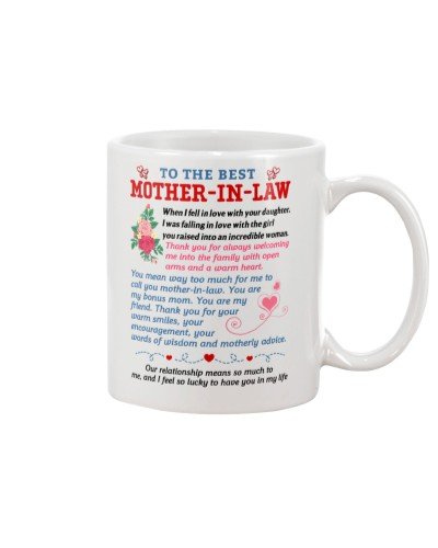 To My Best Mother-In-Law