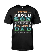Im The Proud Son - Dad Classic T-Shirt front