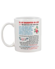 To My Daughter-In-Law - Love Father-In-Law Mug back