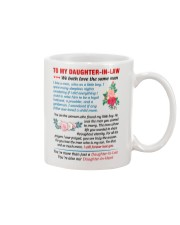 To My Daughter-In-Law - Love Father-In-Law Mug front