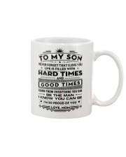 To My Son Mug tile